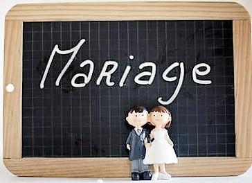 Mariage (ardoise)